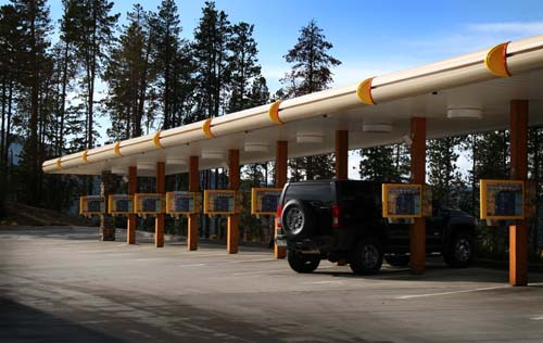 Stuctural Engineering Project, Sonic Drive In, Conifer Colorado